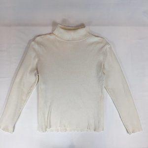 Coldwater Creek Turtleneck Sweater, Size L 12-14
